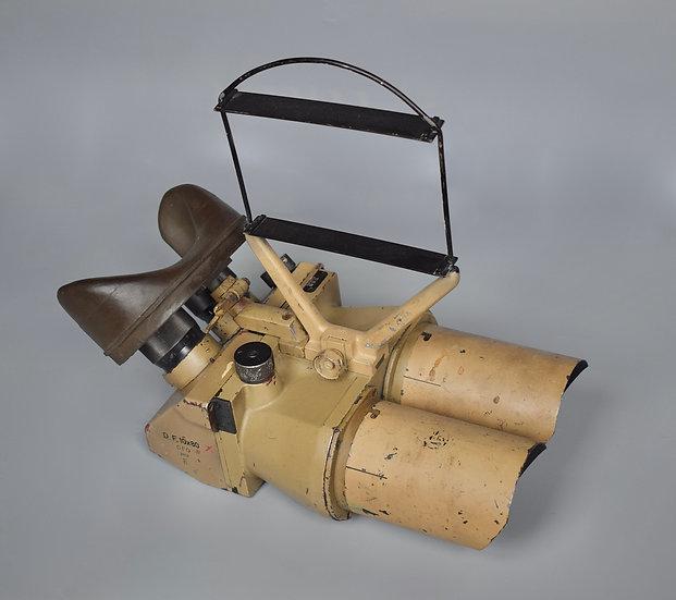 D.F. 10x80 Flakfernrohr binoculars 'cro'+ Flakvisier AA sight