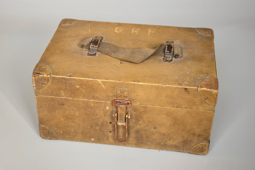 Wooden GRF artillery optic box 'blc'
