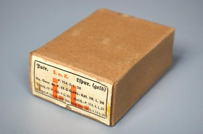 7.92x57mm S.m.K. tracer ammunition box '1938'