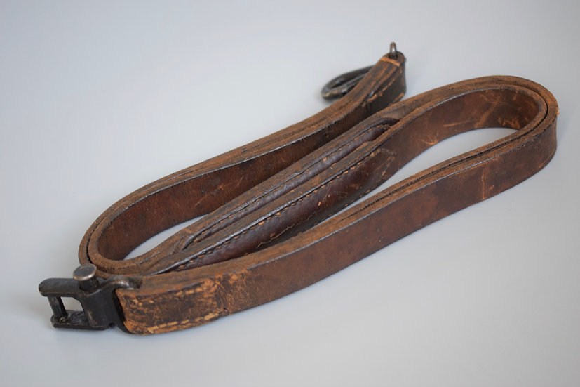Early MG34 leather sling