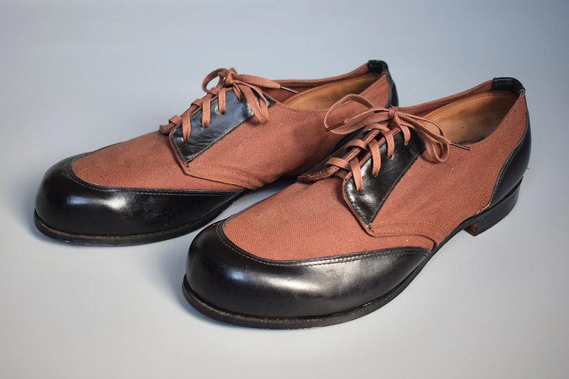 Kriegsmarine U-boat deck shoes 'B.A.W. 41'