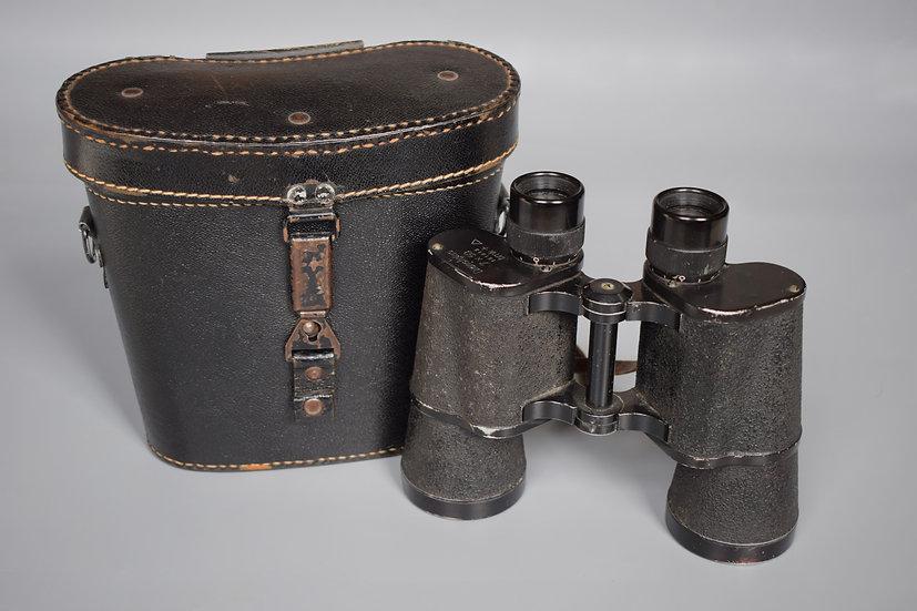 Srb & Stys 'bmk' 7x50 Dienstglas binoculars + case