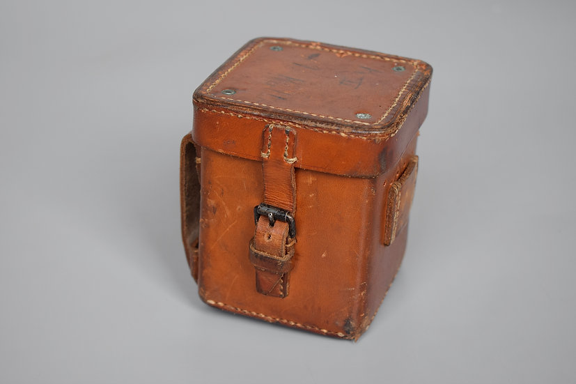 Leather optic battery box 'G. Rodenstock 1937'