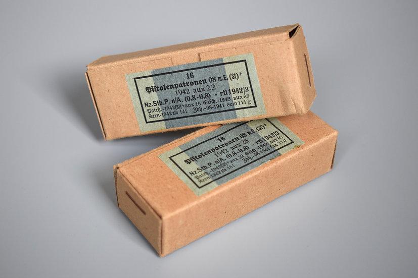 9x19mm ammunition boxes 'aux 1942'