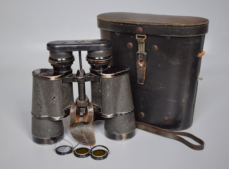 Zeiss 7x50 Kriegsmarine binoculars 'blc'
