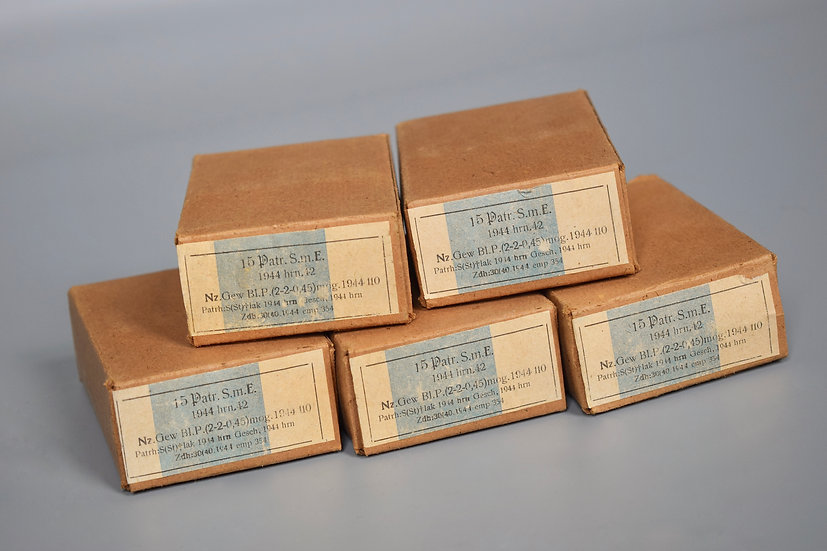 7.92x57mm S.m.E ammunition boxes 'hrn 1944'