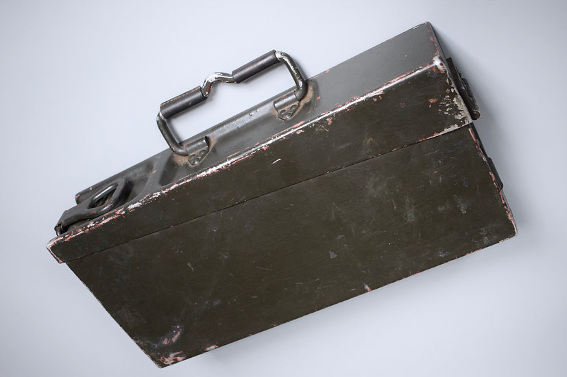 MG34/42 aluminium ammo box '743 1939'