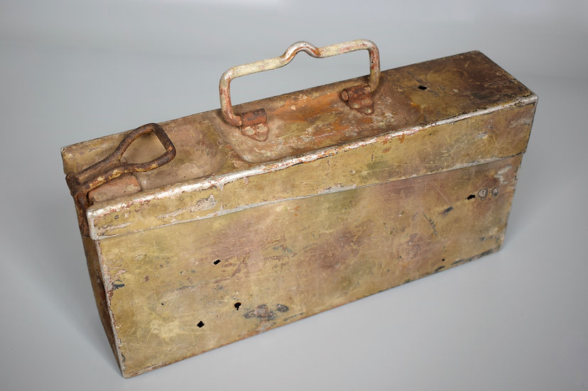 Normandy camouflage MG34/42 ammo box