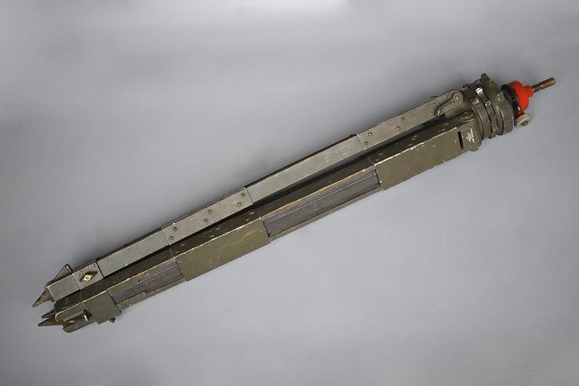 Gestell 31 wooden optic tripod 'Gebrüder Haff, Pfronten'
