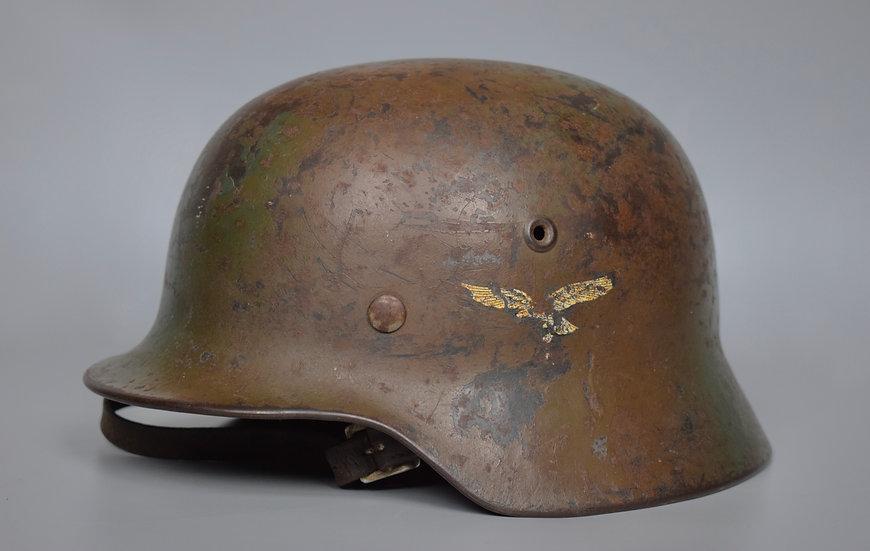 M40 SD Luftwaffe fielddivision camo helmet 'ET66'