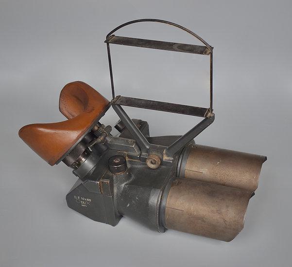 D.F. 10x80 Flakfernrohr binoculars 'dkl'+ Flakvisier AA sight