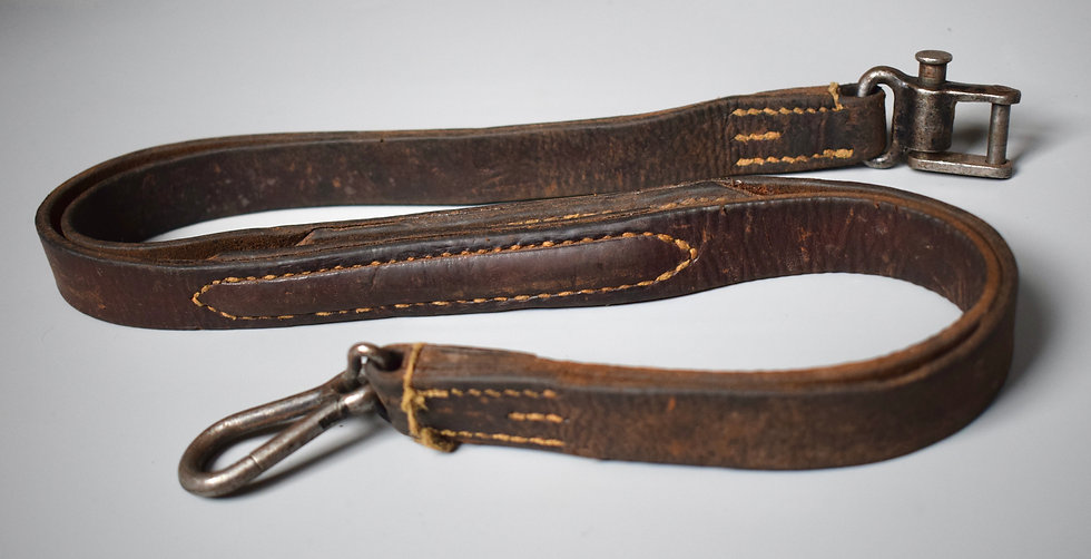 Early MG42 leather sling 'gyb 1942'