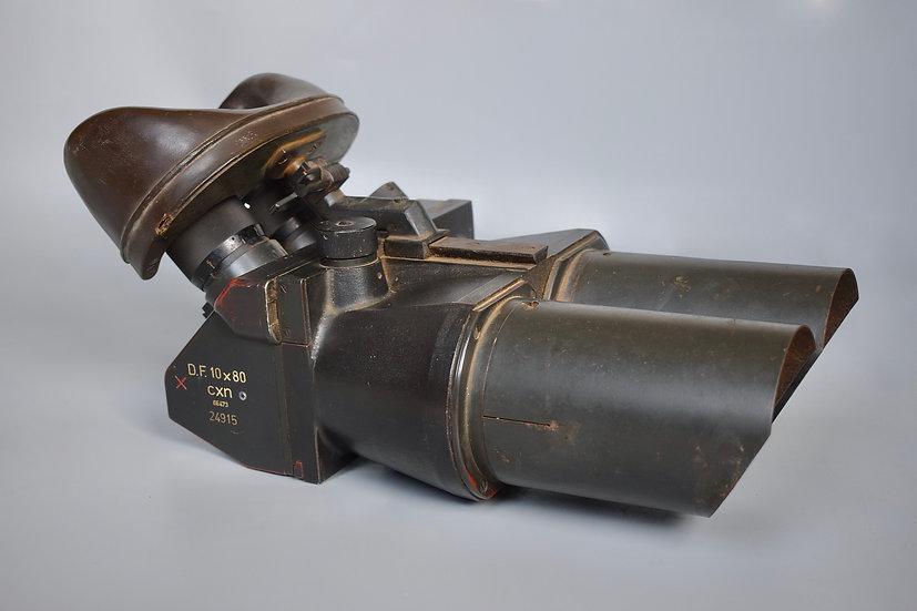 D.F. 10x80 Flakfernrohr binoculars 'cxn'