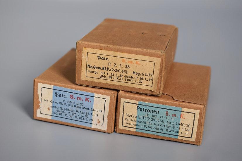 7.92x57mm S.m.K. L'spur ammunition boxes set