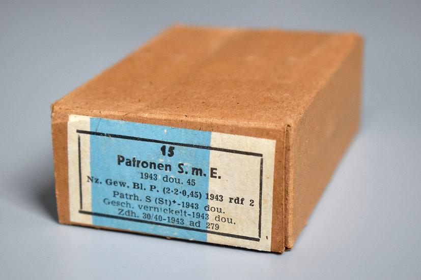 7.92x57mm ball ammunition box '1943 dou'