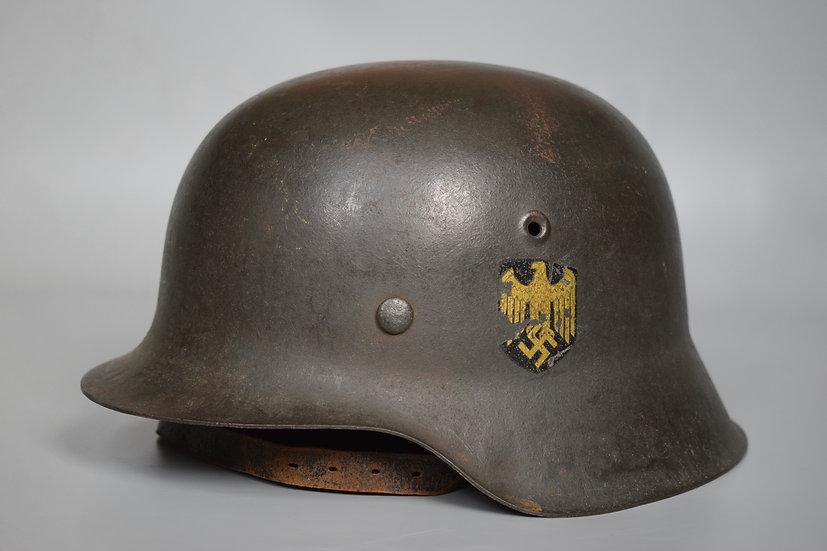 Named M42 SD Kriegsmarine helmet 'ckl 64'