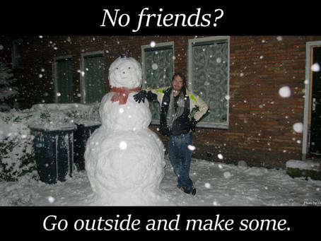 Sneeuwpret!