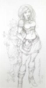 Schets van Anni en Ascii.