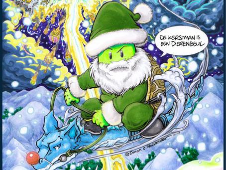 Weet je wat ik de Kerstman vroeg? Vuurwerk :)