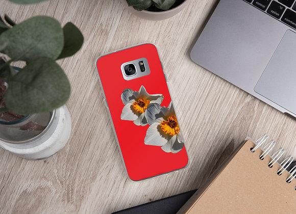 Samsung Case Daffodil Coral