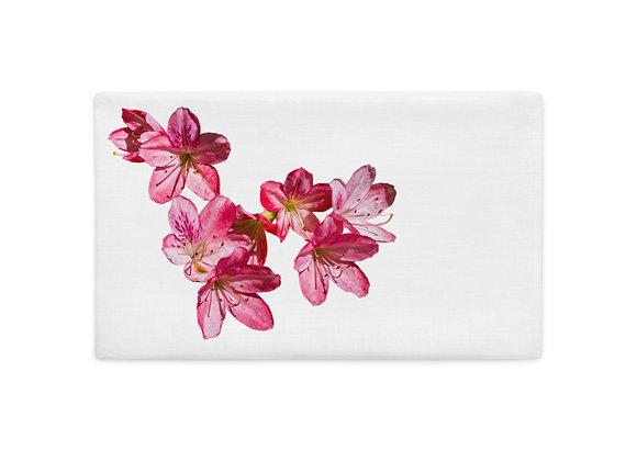 Pink Azalea Premium Pillow Case