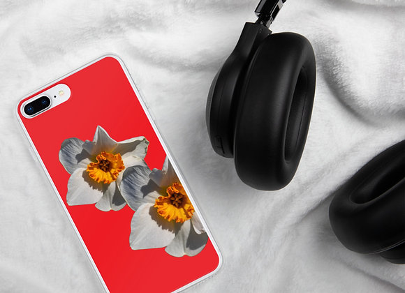 iPhone Case Daffodil Coral