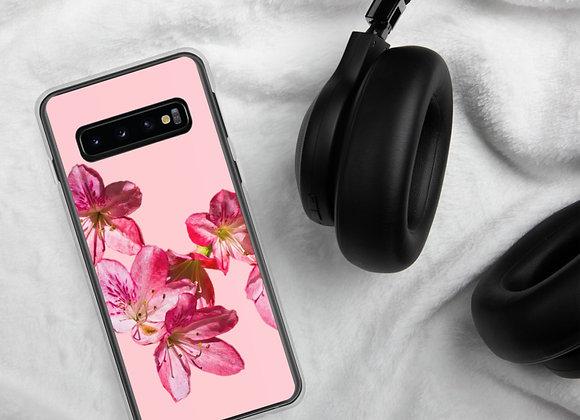 Pink on Pink Azalea Spill Samsung Case