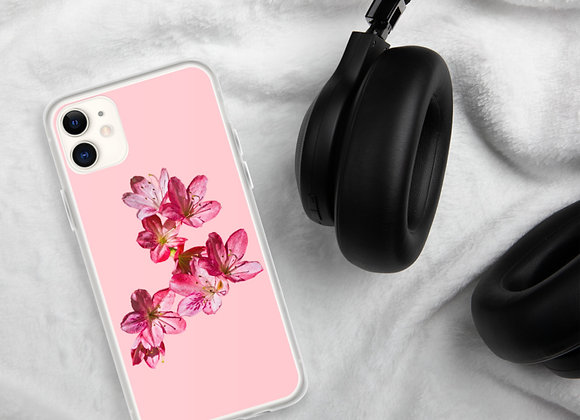 Pink on Pink Azalea iPhone Case