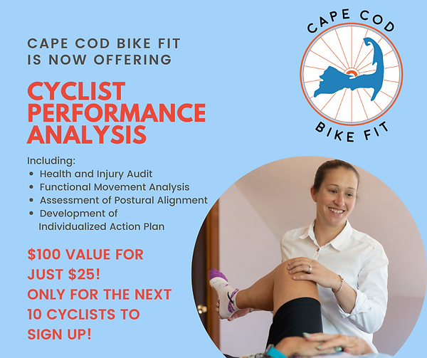Cape Cod Bike Fit is now offering (1).pn