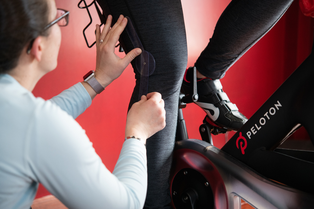Peloton Bike Fit Knee Angle Measurement