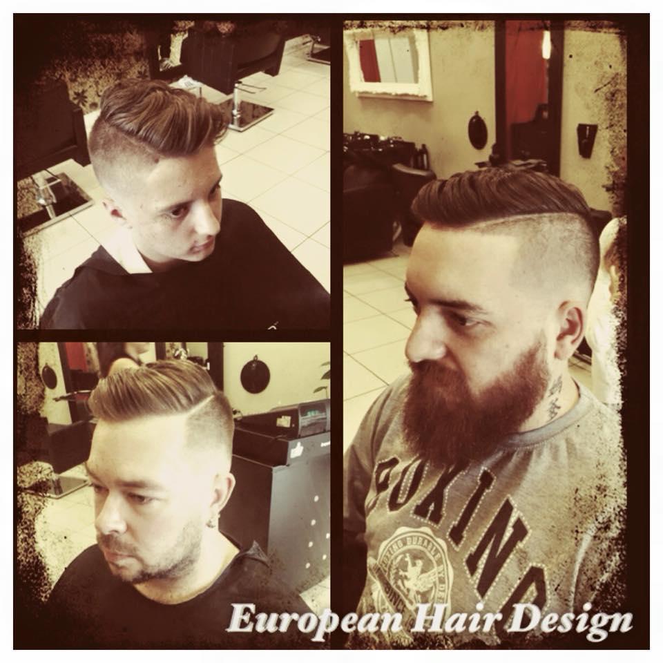 Barbering men's trends