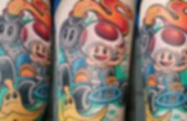 tattoo studio, tattoo parlour