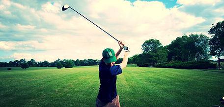 golfing at payne stewart, thousand hills golf resort, pointe royale