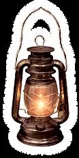 lit lantern, rustic antique, amish lantern, crystal cave
