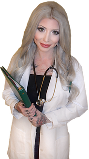 tattooed and employed, tattoos in the medical field, professional tattoos, successful business people with tattoos, doctor with tattoos