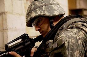 combat infantryman, training operation exercise