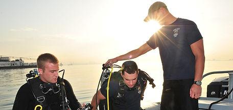 branson marina, scuba instructor