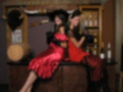 flapper girl costumes, ladies holding pistols, branson missouri