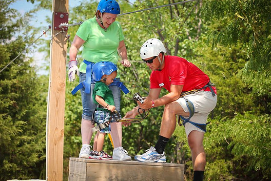 ziplining lessons, ziplining instructions, vacation zipline