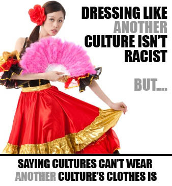 offensive clothing, cultural racism, racist clothing, racist costumes