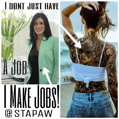 tattooed and employed, tattooed boss, tattooed manager,  tattoo acceptance in the workplace