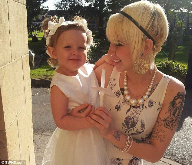 Charlotte Tumilty uk teacher with tattoos, tattooed mom, tattooed parent, tattoos at church, mass, tattooed teacher