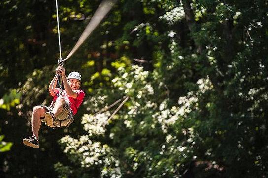 ziplining in missouri, fun outdoor activities