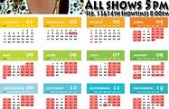 tony roi show schedule