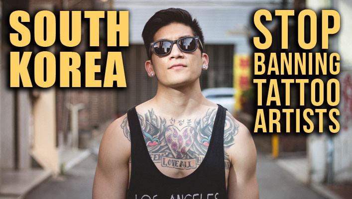 tattoo ban, korean tattoos
