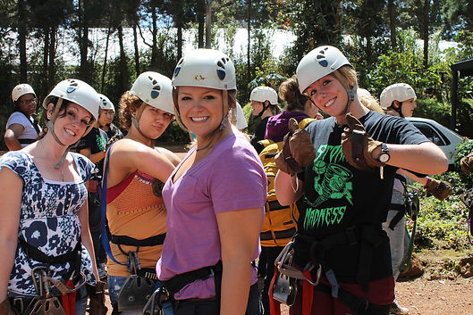 zip line usa, girls vacation, group canopy tours