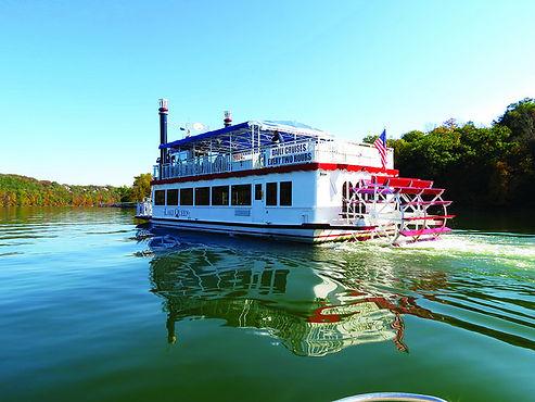 lake queen, steamboat replica, lake cruises