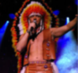 Grand country theater, colorful indian headdress, Missouri tourist attractions, branson vacation packages