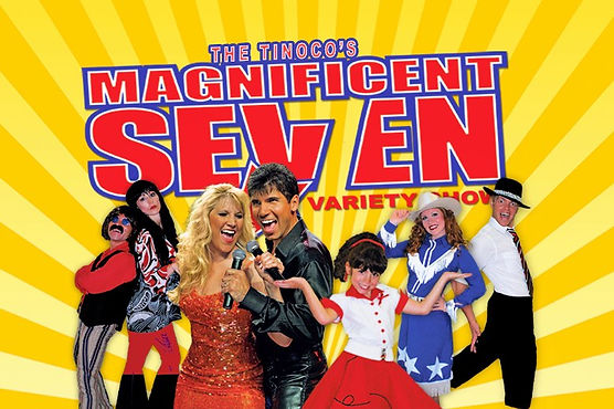 Magnificent Seven Variety Show, Hamner Barber theater, Magnificent Seven Poster, Branson MO music show