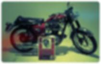 classic motorcycle showcase room, missouri artifacts, 1966 650cc lightning motorcycle